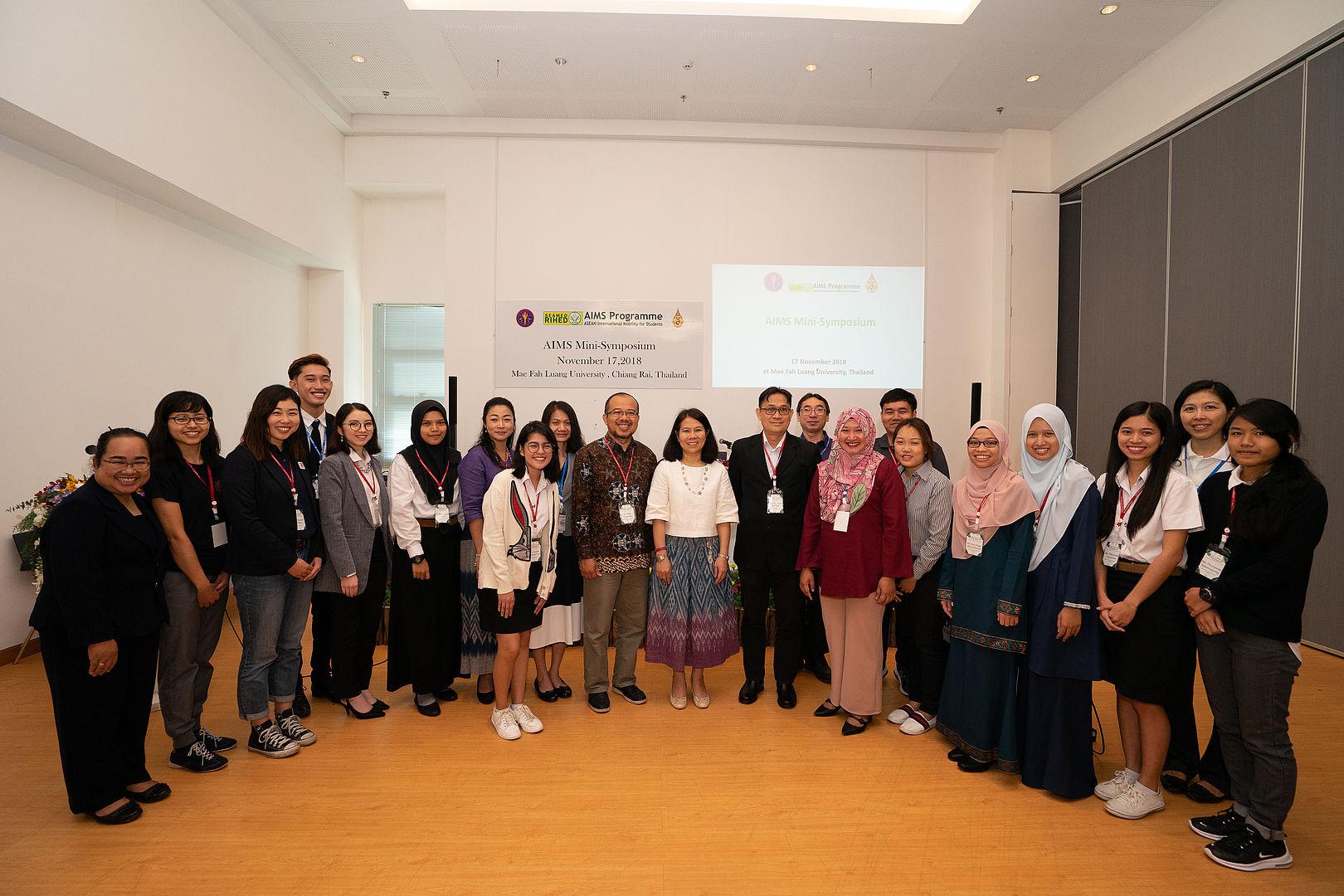 Mae Fah Luang University (MFU) Checking Out Scholars Program 2019
