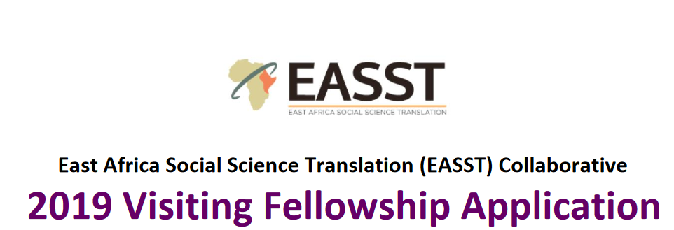 East Africa Social Science Translation (EASST) Collective 2019 Going To Fellowship for African scientists (Totally Moneyed to University of California, U.S.A.)