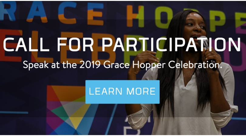 Apply to Speak at the 2019 Grace Hopper Event (GHC 19) in Orlando, Florida, U.S.A.