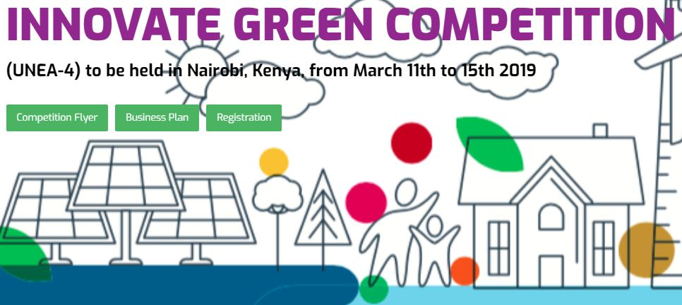 Innovate Green Competitors 2019 for Trainees in the MENA Area