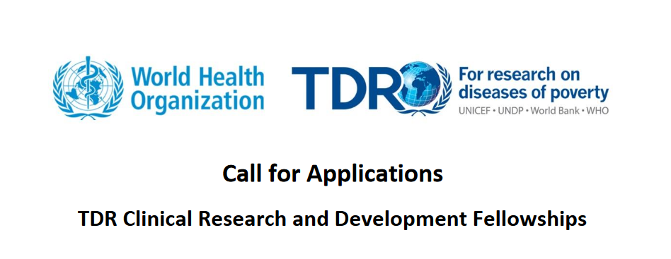 WHO/TDR Scientific Research Study and Advancement Fellowships 2019 for young Scientists (Completely Moneyed)