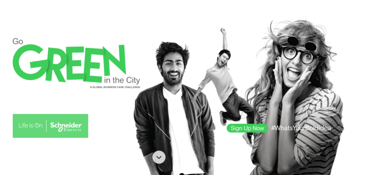 Go Green in the City 2019 Worldwide Trainee Competitors (Fully-Funded journey to Schneider Electric Global Development Top 2019 in Barcelona)