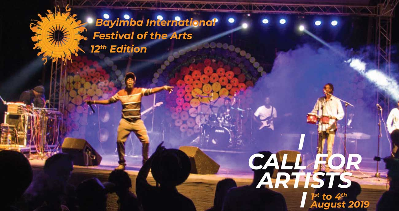 Require Artists: 12 th Edition Bayimba International Celebration of the Arts