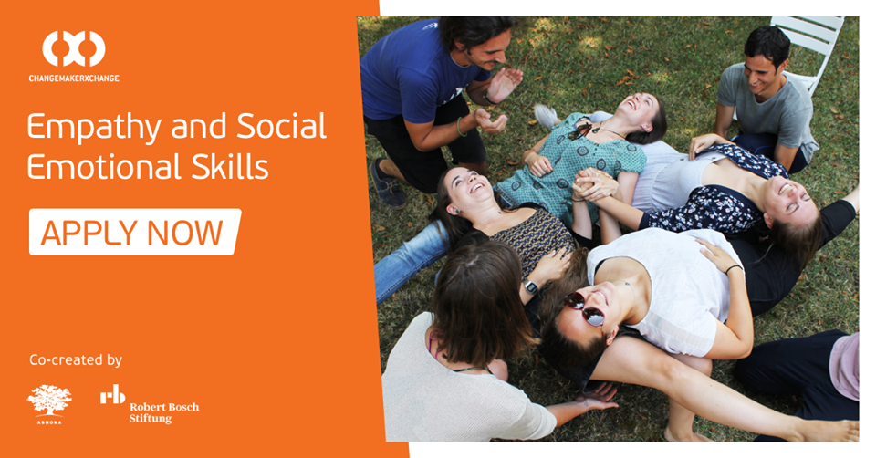 Ashoka/Robert Bosch Stiftung ChangemakerXchange Program 2019 on Compassion and Social-Emotional abilities (Fully-funded)