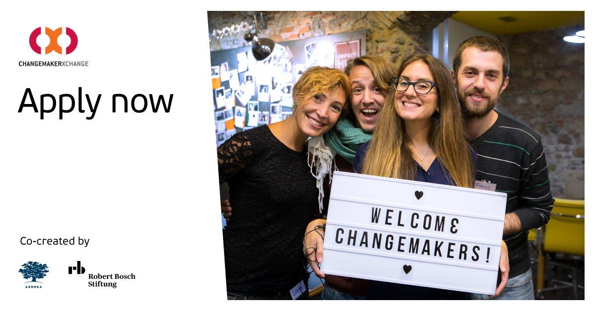 Ashoka/Robert Bosch Stiftung Changemakerxchange Program 2019 in China, Ethiopia, Spain and Nigeria (Fully-funded)