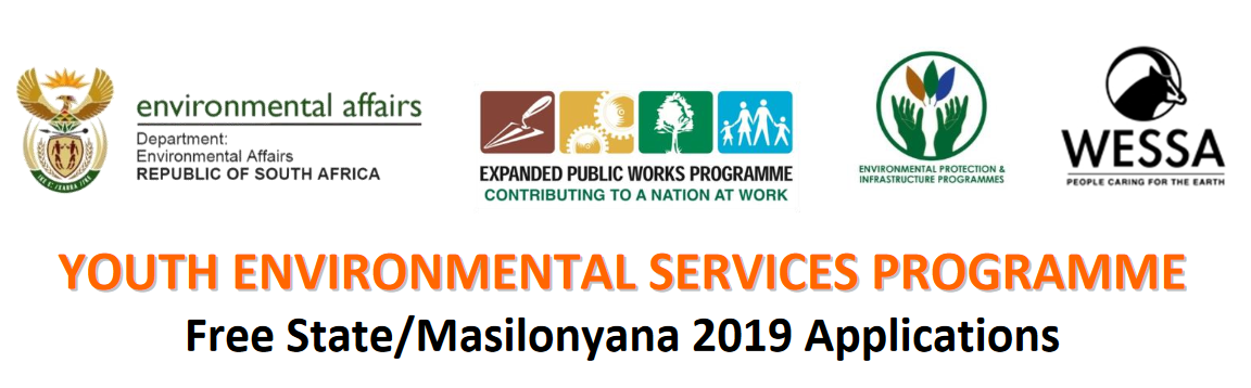 2019 Youth Environmental Providers Learnership Program for young Unemployed South Africans