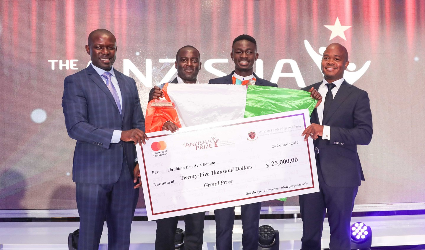 Anzisha Reward 2019 for Young African Business Owners (Win a share of $100,000 and a journey to South Africa)