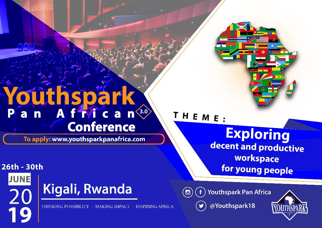 Require Applications: Youthspark Pan-African Conference 2019: Kigali, Rwanda