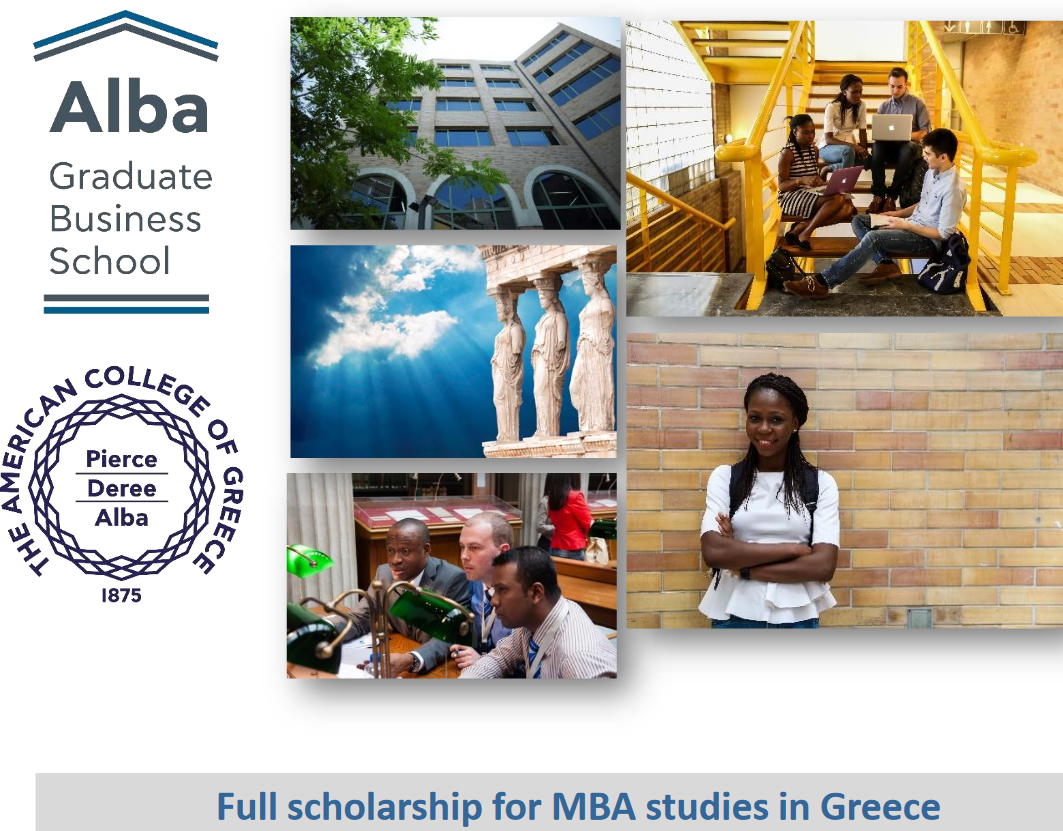 A.G. Leventis Structure MBA Scholarship Program 2019/2020 for Nigerian people (Completely Moneyed to study in Greece)