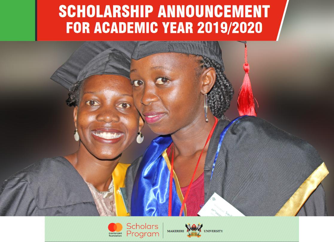 Makerere University MasterCard Structure Scholars Program 2019/2020 for Undergrad Research Study in Uganda (Moneyed)