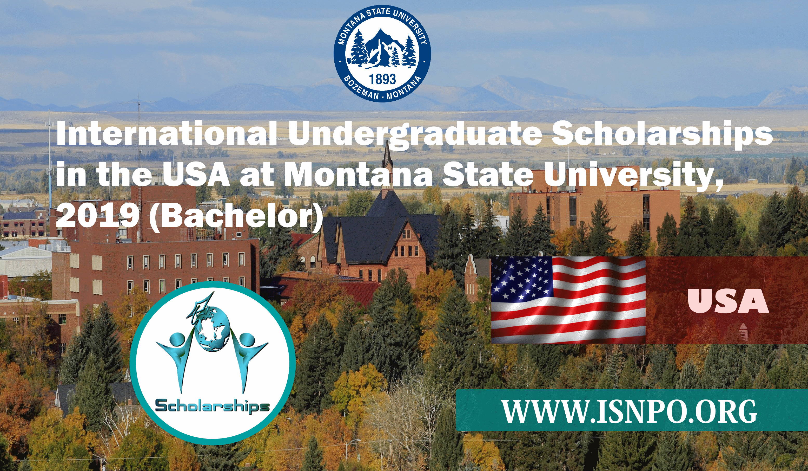 International Undergrad Scholarships in U.S.A. at Montana State University, 2019