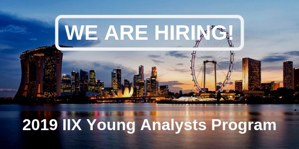 Effect Financial Investment Exchange (IIX) Young Experts Program 2019