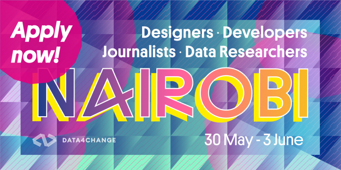 DATA4CHANGE Program 2019 for Reporters and Information Scientists (Fully-funded to Nairobi, Kenya)