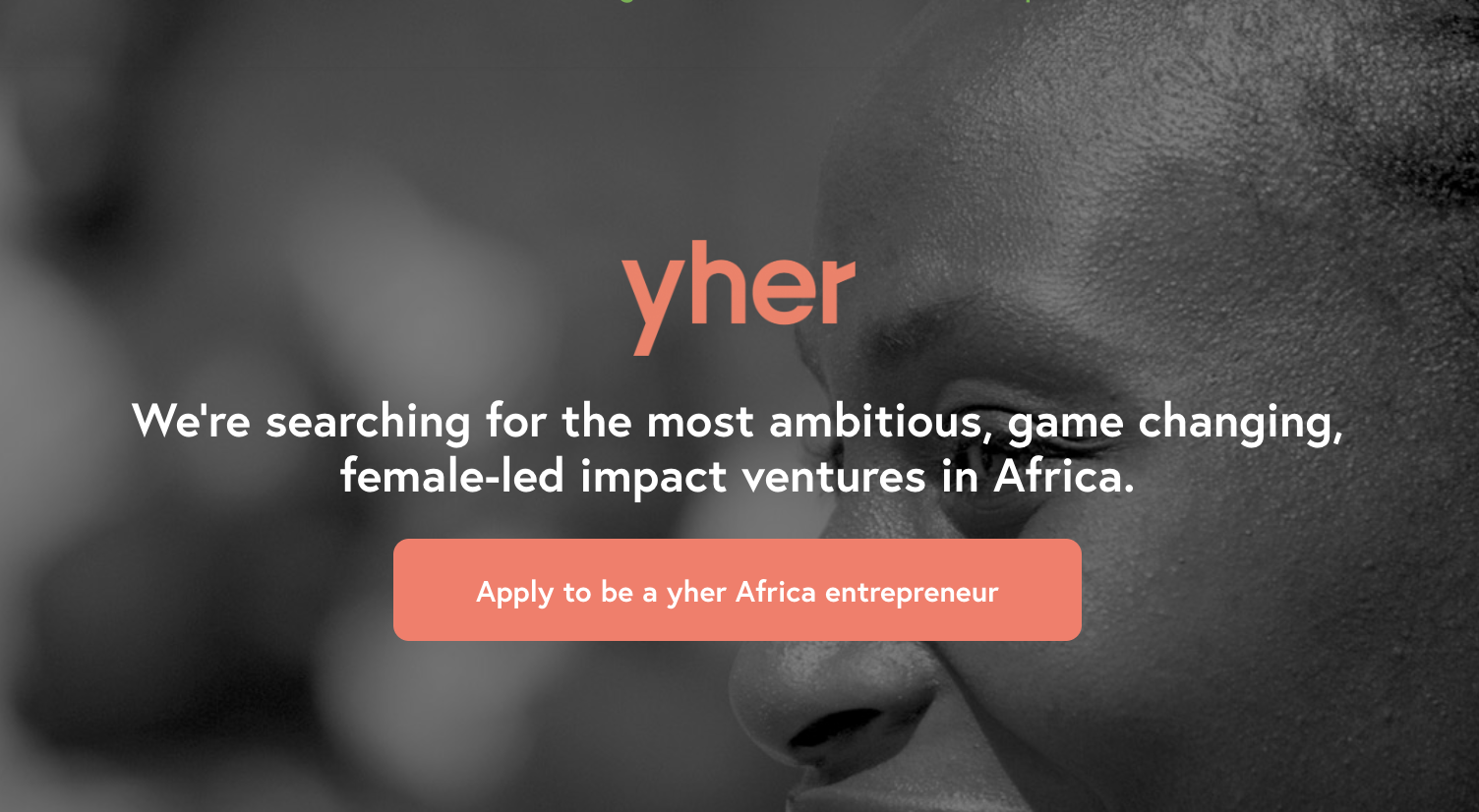 YGAP yher Africa Accelerator Program 2019 for Female Business Owners