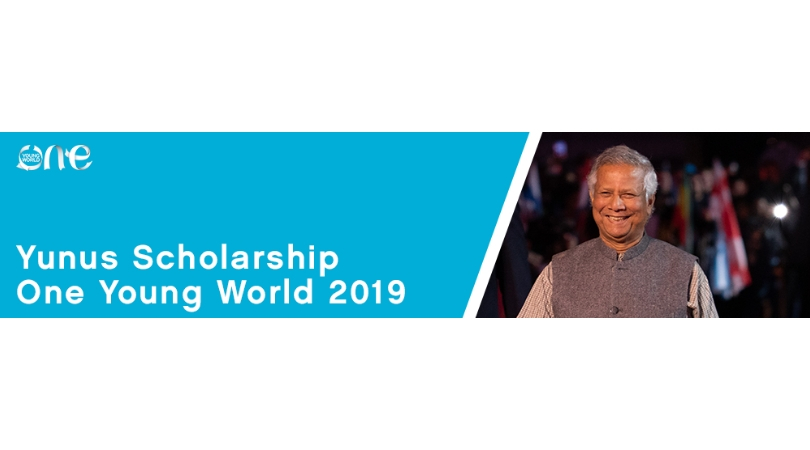 Teacher Muhammad Yunus Scholarship for Bangladesh Youth to go to One Young World Top 2019 in London, UK