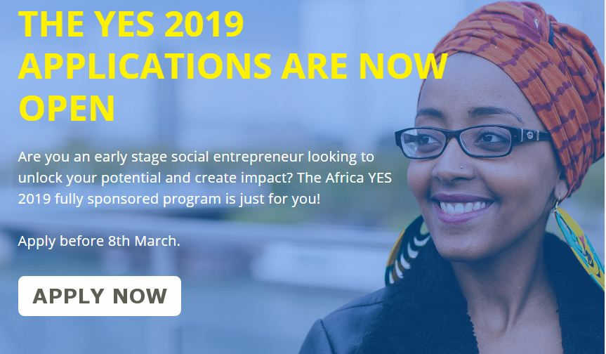 Africa Young Business Owner Assistance (YES) Program 2019