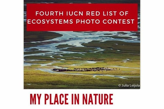 4th IUCN Red List of Ecosystems Picture Contest 2019