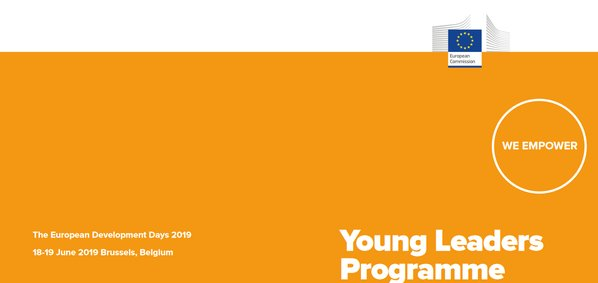 European Advancement Days 2019 (EDD 2019) Young Leaders Program (Totally Moneyed to Brussels, Belgium)