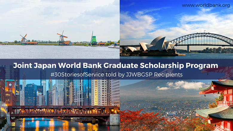 Joint Japan/World Bank Graduate Scholarship Program 2019/2020 for establishing nations Nationals (Completely Moneyed)