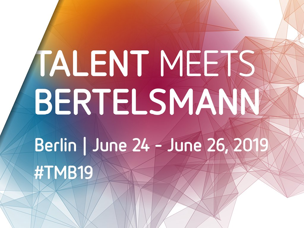 Skill Fulfills Bertelsmann 2019 for emerging Business owners Worldwide (Moneyed to Berlin, Germany)