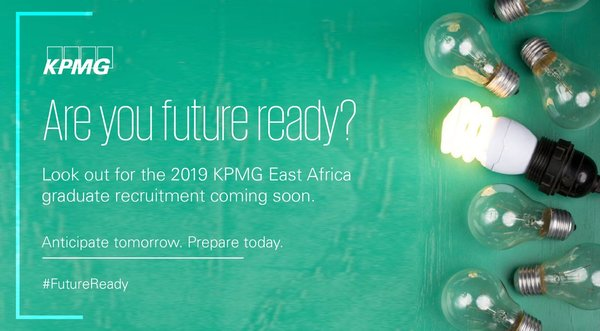 KPMG East Africa Graduate Recruitment 2019 for young Graduates from East Africa