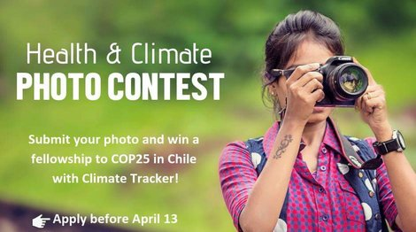 Environment Tracker Health & & Environment Picture Contest 2019 (Totally Moneyed fellowship to go to the POLICE25 in Chile)