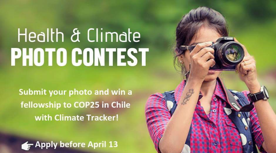 Environment Tracker Health and Environment Picture Contest 2019 (Win a fully-funded fellowship to Chile for POLICE25)