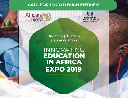 Require Entries: African Union 2019 Logo Design Style for Innovating Education in Africa Exposition (1000 United States Dollars Reward)