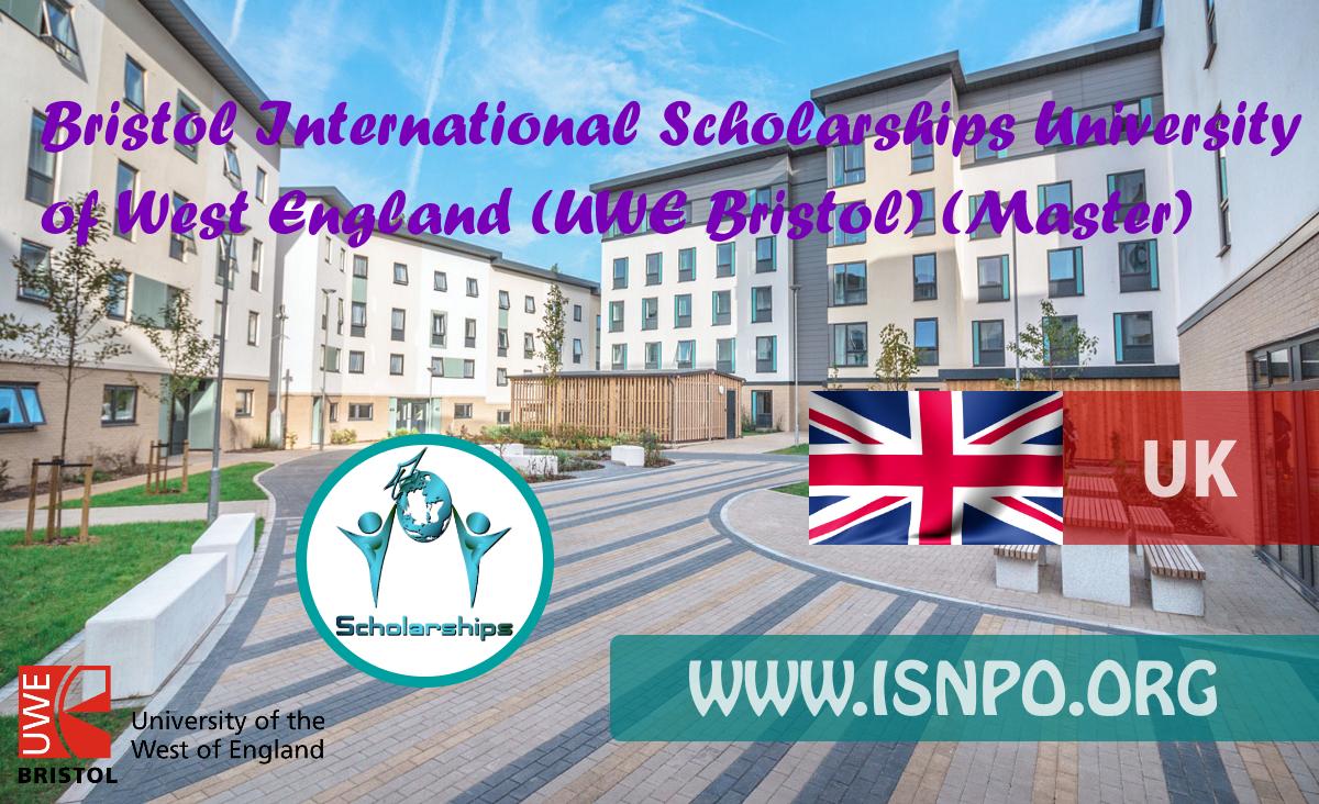 Bristol International Scholarships University of West England (UWE Bristol) (Master)