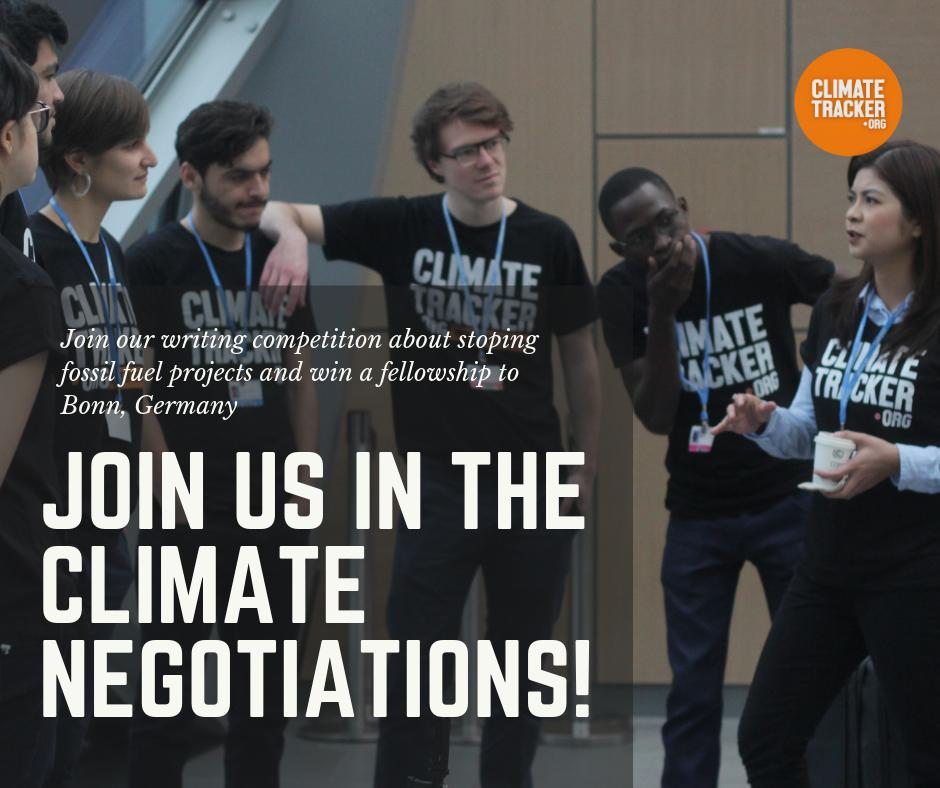 Local weather Tracker's Cease Fossil Fuels Multimedia Competitors 2019 (Totally Funded fellowship to the June local weather negotiations in Bonn, Germany!)