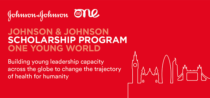 Johnson & & Johnson One Young World Scholarship Program 2019 for young health leaders (Fully-funded to OYW Top in London, UK)