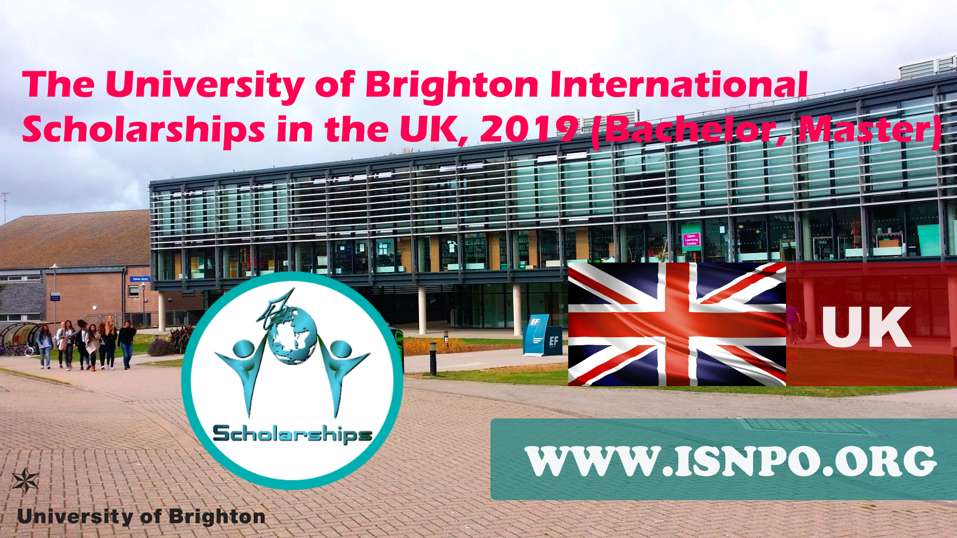 The University of Brighton International Scholarships in the UK, 2019 (Bachelor, Master)