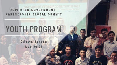 2019 Open Federal Government Collaboration Global Top Global Youth Leaders in Open Federal Government (Totally Moneyed to Ottawa, Canada)