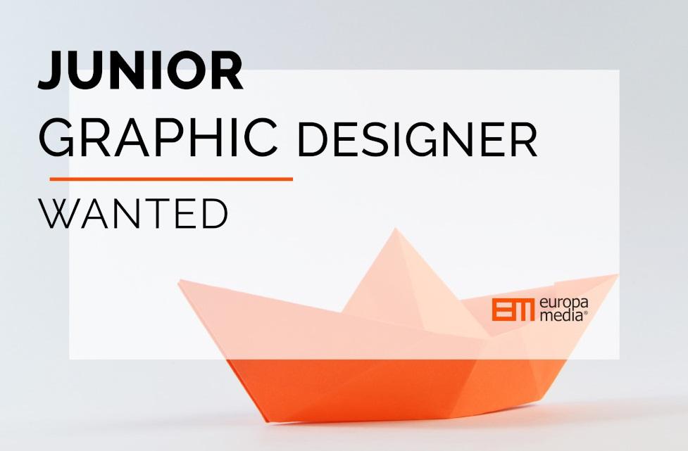 Get a Junior Graphic Designer Task at Europa Media