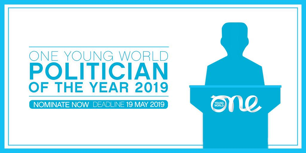 One Young World Political Leader of the Year Award 2019 (Fully-funded to the OYW Top in London, UK)