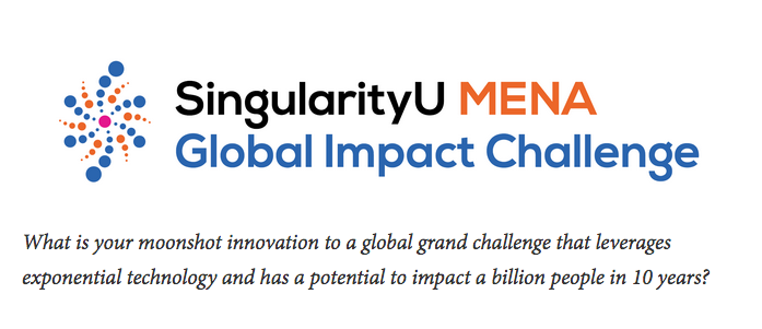 SingularityU MENA Global Effect Obstacle 2019 (Complete sponsorship to participate in SU's International Start-up Program in Copenhagen, Denmark)