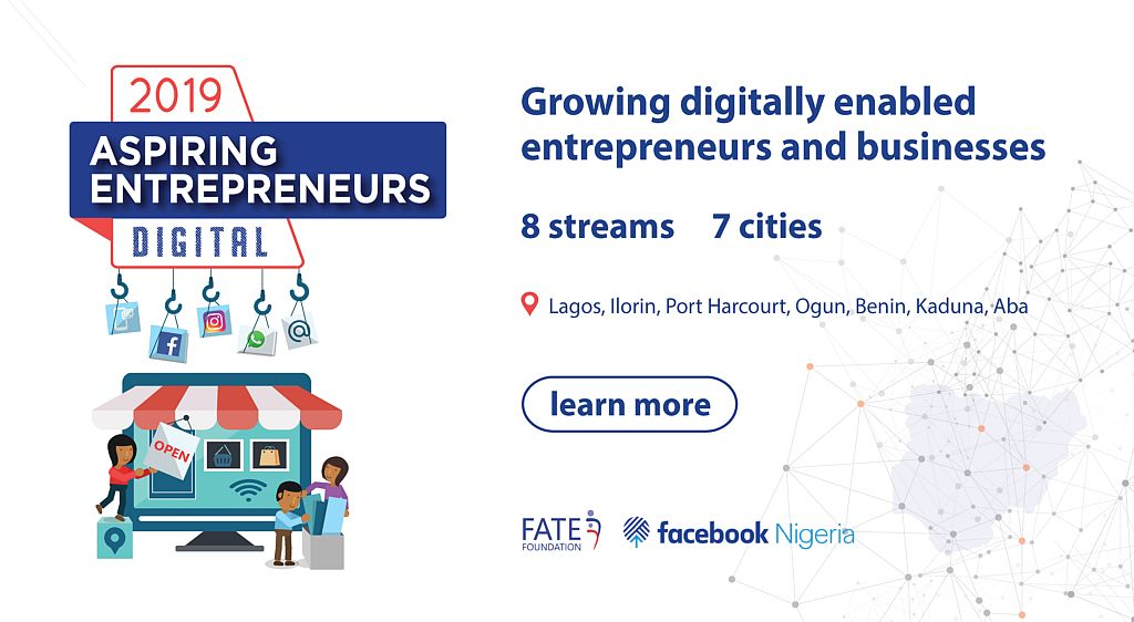 Facebook Nigeria/FATE Structure Digital Program 2019 for Striving Business Owners