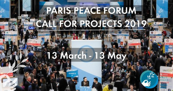 Require Tasks: 2019 Paris Peace Online Forum in Paris, France.