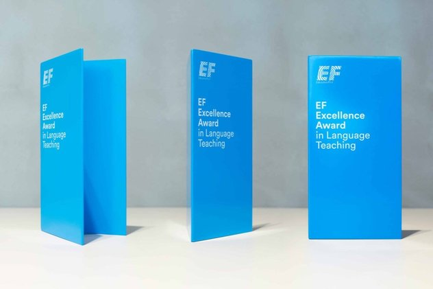 The 2019 EF Quality Award in Language Mentor (Completely Moneyed to EF Worldwide Top in New York City, U.S.A.)