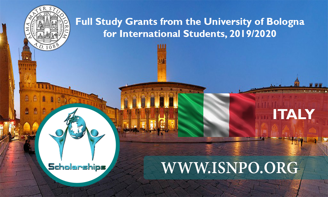 Italy: Complete Research Study Grants from the University of Bologna for International Trainees, 2019/2020