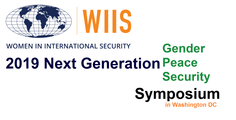 Females In International Security (WIIS) 2019 Next Generation Gender, Peace and Security (GPS) Seminar.