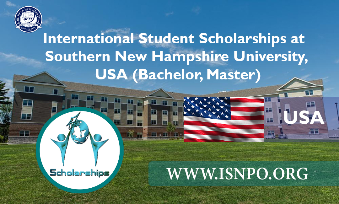 International Trainee Scholarships at Southern New Hampshire University, U.S.A. (Bachelor, Master)