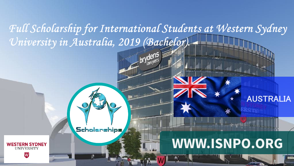 Complete Scholarship for International Trainees at Western Sydney University in Australia, 2019