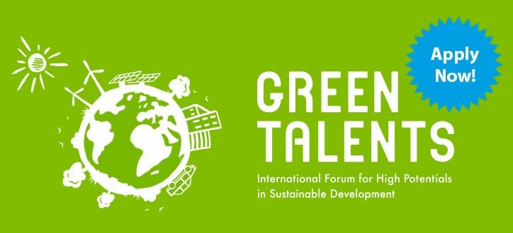 Green Talents 2019– Global Online Forum for High Potentials in Sustainable Advancement (Completely Moneyed to Germany)