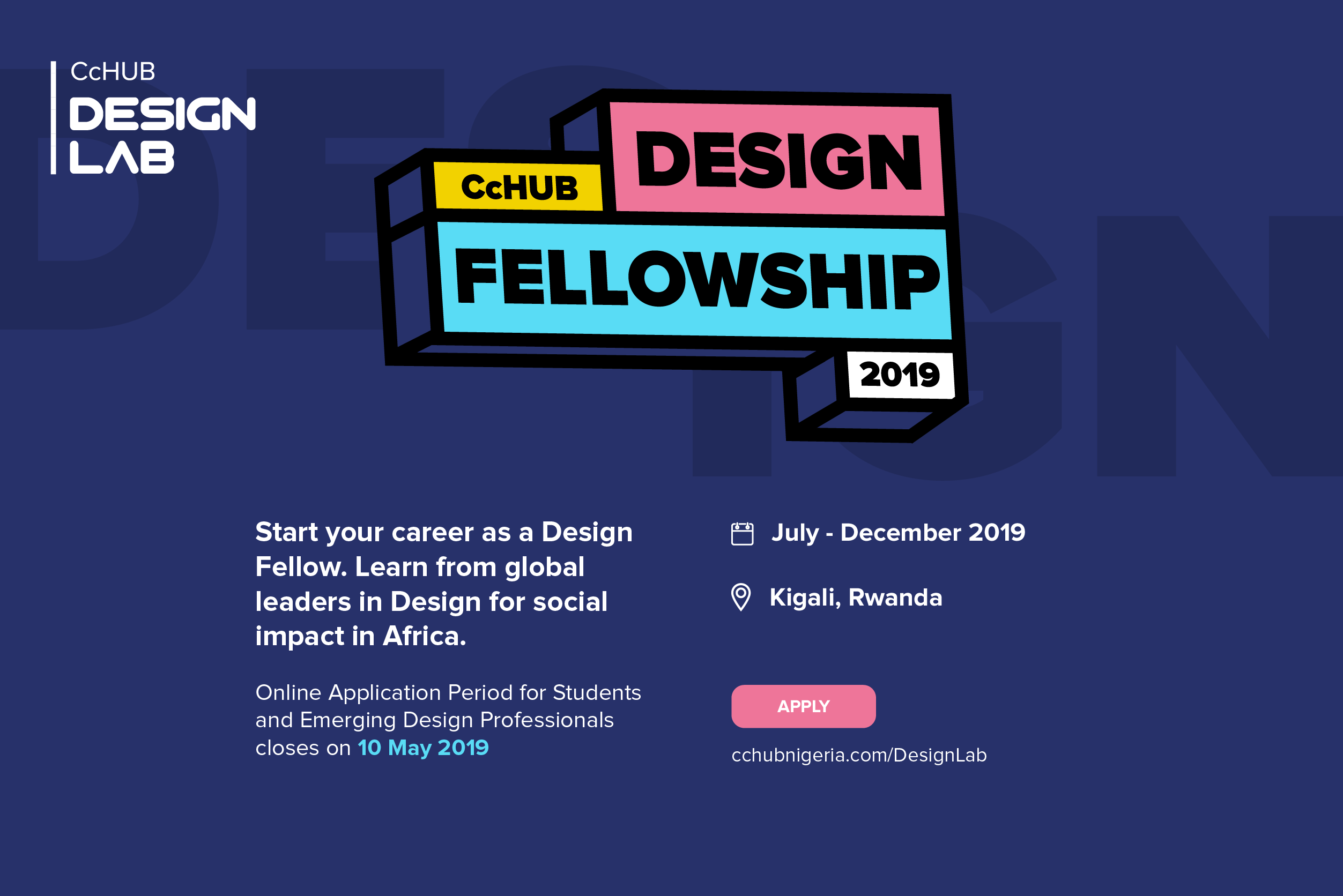 Co-Creation Center (CcHUB) Style Fellowship 2019