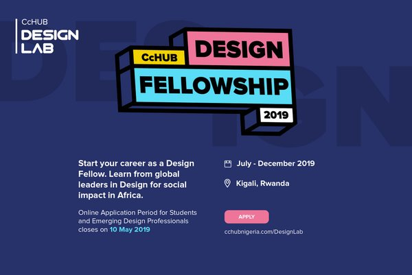 2019 Co-Creation Center (CcHUB) Style Fellowship for current graduates
