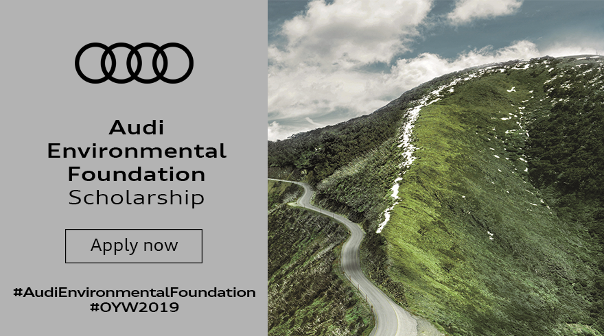 Audi Environmental Structure Scholarship to participate in One Young World Top 2019 in London, UK (Fully-funded)