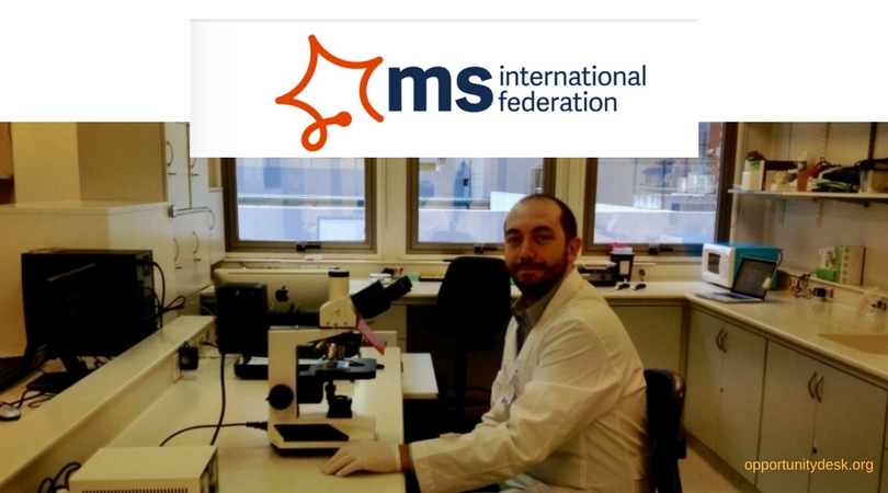MSIF McDonald Fellowship Program 2019 for Scientists (Approximately ₤30,000)