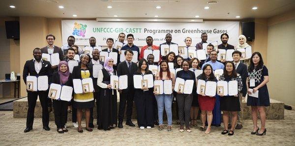 UNFCCC-GIR-CASTT Program on Greenhouse Gases 2019 (Fully-funded to Korea)