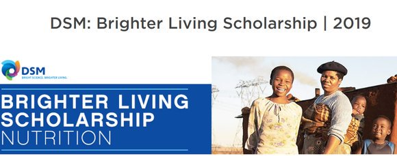 DSM: More Vibrant Living Scholarship 2019 for young Business owners (Totally Moneyed to go to the One Young World Top 2019 in London, UK)